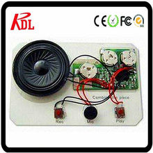 mini voice recorder chip for cards and toys