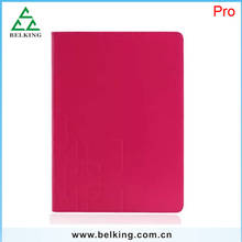 2016 Leather PU Folder Smart Tab Cover For iPad Pro Leather Standing Wallet Case