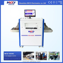 Portable X Ray Baggage Scanner Industrial Safety Equipment designed for Hotel
