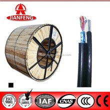 2014 top sale self support aerial telephone cable 0.50mm bare copper conductor, drum packing