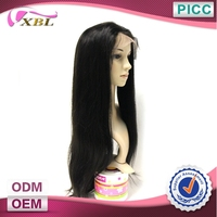 Best Quality Soft And Smooth Wholesale Price 100 Peruvian Virgin Hair Full Lace Wigs