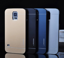 s5 mini G800 Brushed Aluminum+PC Hard case for Samsung Galaxy s5 mini Mobile Phone Luxury Metal Back Cover