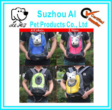 Pet Front Carrier Dog Cat Puppy Travel Bag Mesh Backpack Head out Double Shoudler Dog Carrier