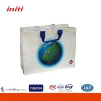High Quality Logo Customized PP Woven Reusable Shopping Bags