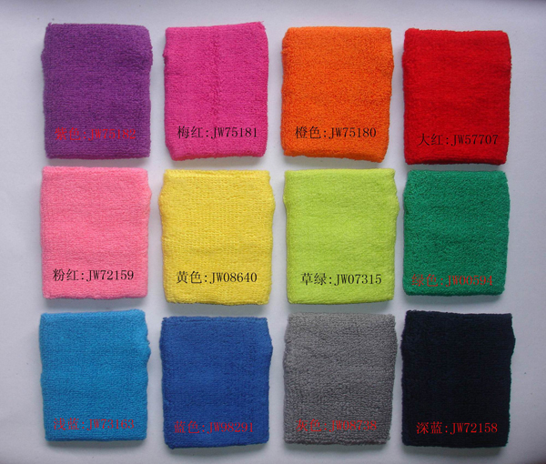 stock colors for wristband