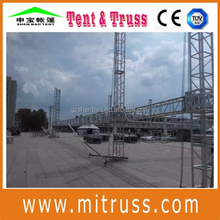 Fashional line array truss lighting tower truss for outdoor concert stand