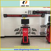 Wheel Alignment gauge factory price 3d wheel aligner machine for sale DS6
