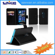 mobiel phone case card holder wallet with great price for Nokia Lumia 920