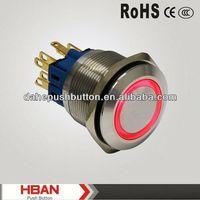 CE ROHS pressure sensitive membrane switch