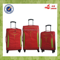 Best Selling Cheap EVA Red Fashionable Spinner Wheels Baigou Trolley Case