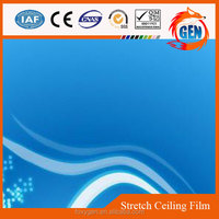 low price plastic ceiling decors colorful pvc soundproof ceiling system