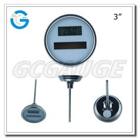 High quality solar digital cooking thermometer
