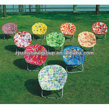 Social audit factory folding moon chair with high quality