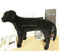 good design cheap lifelike toys black Lab dog stuffed animal toys for kids