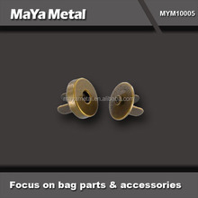 MaYa Metal 2015 new style metal magnet snap button wholesale for bags