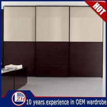Home bedroom furniture wooden wardrobe designs modern cabinet closet double color wardrobe design furniture bedroom
