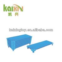 CE Plastic Kids Stackable Cot Bed