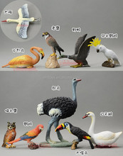 OEM Manufacturer Resin Bird Figurines Handicraft Animal Figures Resin Animal Statues