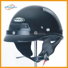 Black Flame Dirt Bike ATV Motocross Helmet Open Face