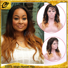 2015 hot selling 100% brazilian human hair wholesale brazilian hair sew full lace wig