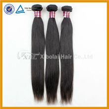 XBL Brazilian hair 3pcs/lot free shipping 18 20 22 inch virgin brazilian straight hair