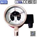 """4 """" em aço inoxidável medidor de pressão elétrica contato com alarme e outros medidor de pressão"""