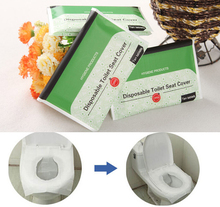 Disposable Paper Toilet Seat Covers Camping Festival Travel Loo bathroom set accessories
