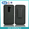 China Mobile Phone Accessory Mobile Phone Case Holster Combo Case For LG G2