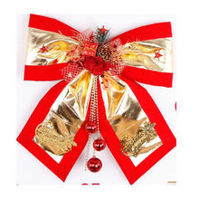 Wholesale Christmas decorations, Christmas ornaments of gold cloth interior ambience dress butterfly