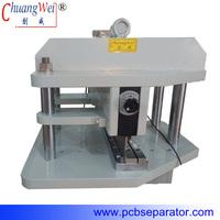Thick Aluminum and Copper Pre-scored PCB Shearing Machine CWVC-450