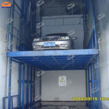 hot sale 2.4m hydraulic goods lift for factory