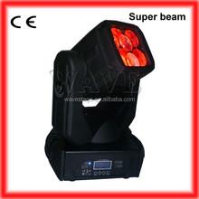 WLEDM-15-1 Hot 4 pcs 25W led super stage rotating beam moving head club light