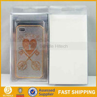 Fashion Love Heart Crystal Case Cover for Apple iPhone 4S 4 4G 4GS