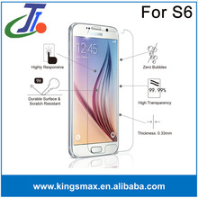 Privacy/mirror/plain/anti glare mobile LCD screen protectors/guard/cover/film for Galaxy S6