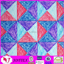 custom nylon spandex diamond warp knitting swimwear digital gilding printing fabric in textiles