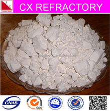 different kaolin ball clay used for refractory castable
