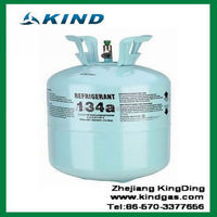 13.6kg/30lbs 99.9% pure disposable cylinder refrigerant gas r134a