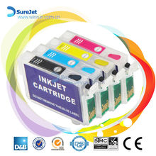 New hot product 2015 auto reset chip T0731 ink cartridge for Epson T10 T11 T13 printer ink refill