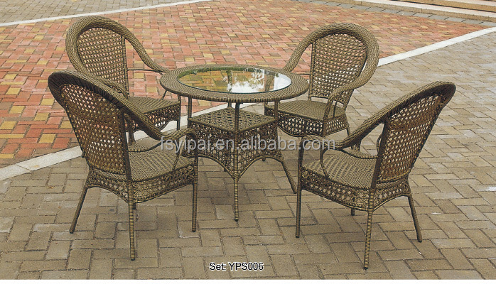 Used rattan wrought iron patio furniture yps005 buy - Used wrought iron furniture ...