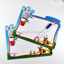 oem custom cheap price children dry eraser magnetic writing board