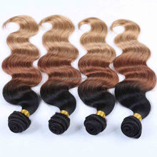 3 Bundles Hot Selling 7A Virgin Peruvian Hair Extensions, 100% Unprocessed Virgin Peruvian Deep Wave Hair Weave Wavy