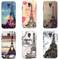 Painting paris eiffel tower case for samsung galaxy s4