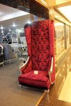 classic High back chair,antique furniture high back chair, high back living room chairs X-001