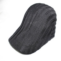 2014 new design custom knitted style French beret hats for men