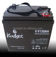 batteries solaires 150 amp 6volts lead acid batteries