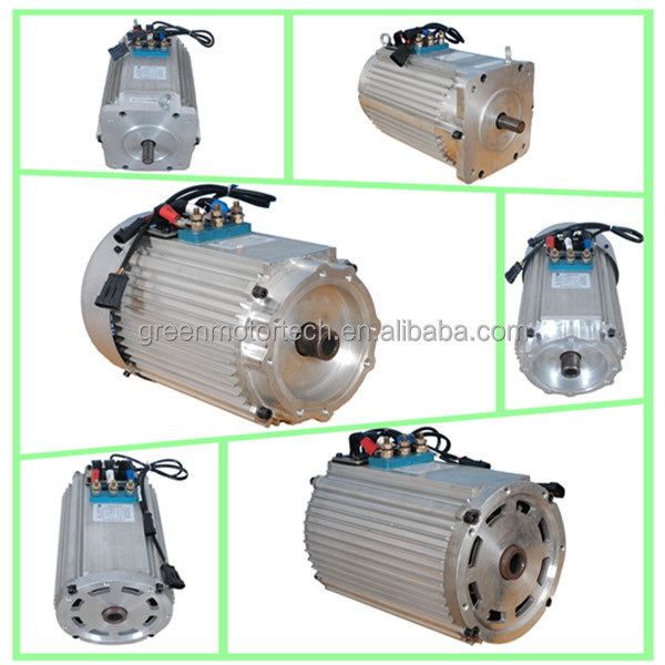 Ac motor 48v 4kw electric car motor kit for electric golf cart on brushless dc motor manufacturers