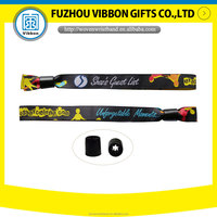 woven wristband fabric bracelet for event made in China