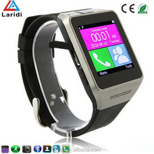2015 New 3G smart watch GV08 smartwatch mobile phone for smartphone