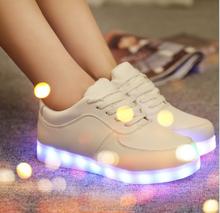SIHON Colorful USB Rechargeable LED luminous shoes luminous shoes
