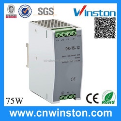 Hot selling Trade Assurance DR-75-48 75W 48V 1.6A Din Rail switching mode power supply